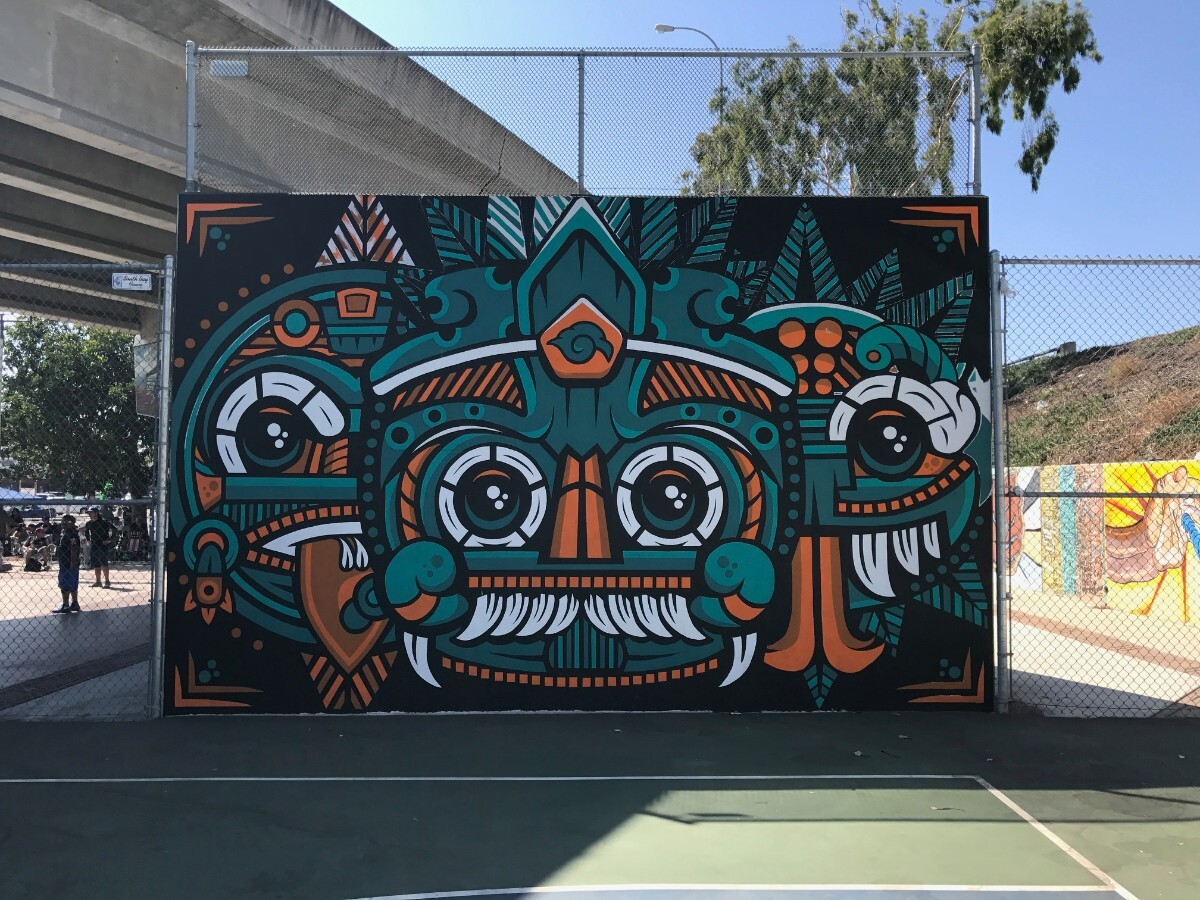 Chicano Park mural on National Ave., San Diego | G. James Daichendt