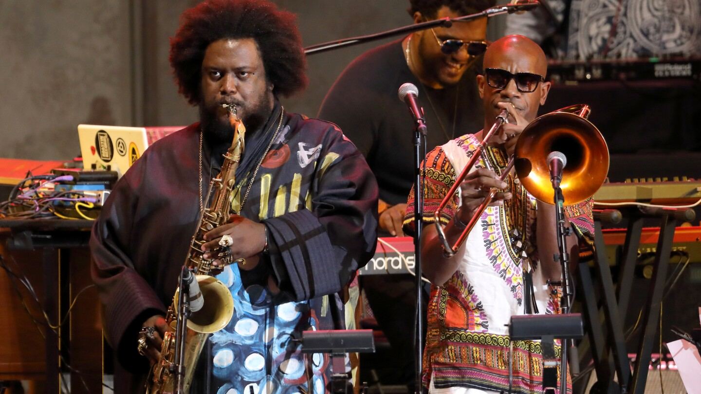 Kamasi Washington, featured in the new series IN CONCERT AT THE HOLLYWOOD BOWL (Image courtesy of Mathew Imaging)
