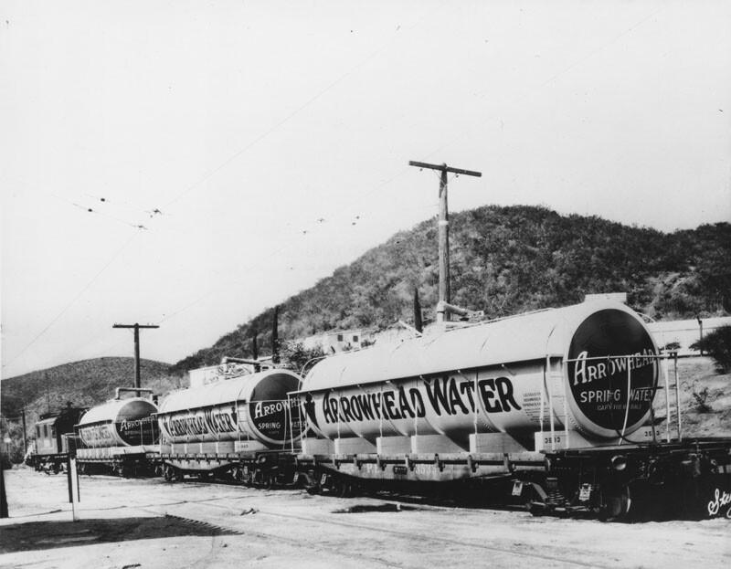 Arrowhead water railcars