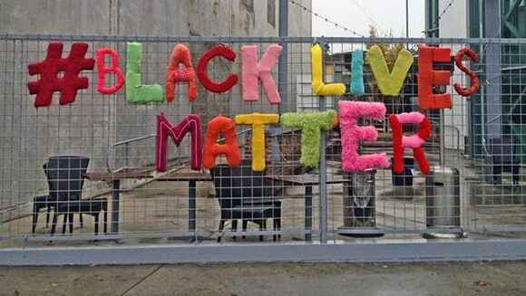 #BLACK LIVES MATTER at the Craft and Folk Art Museum | Courtesy Craft and Folk Art Museum