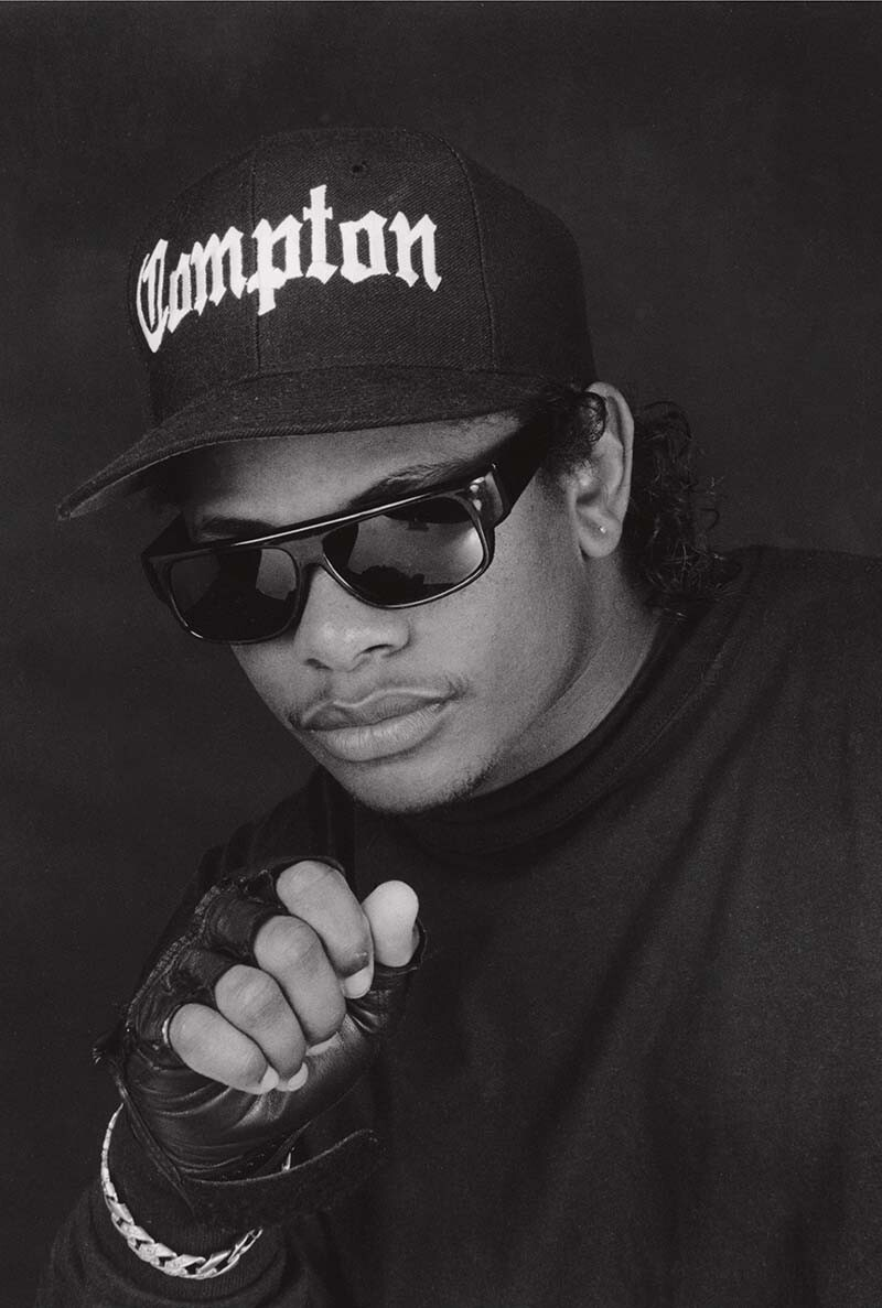 George Rodriguez, Eazy-E, Burbank , c. 1980. | Courtesy of the artist.