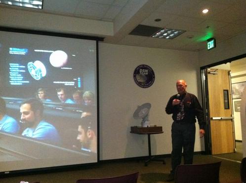Security Brief at JPL | image via Rena Strober