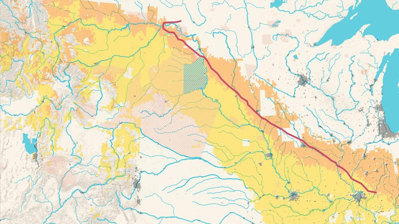 Dakota Access Pipeline and Waterways