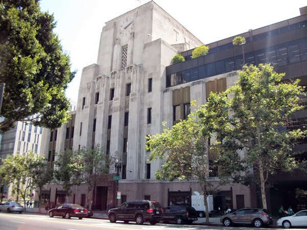 Current L.A. Times building stands across from the former site of ''The Fortress'' | Photo: Hadley Meares