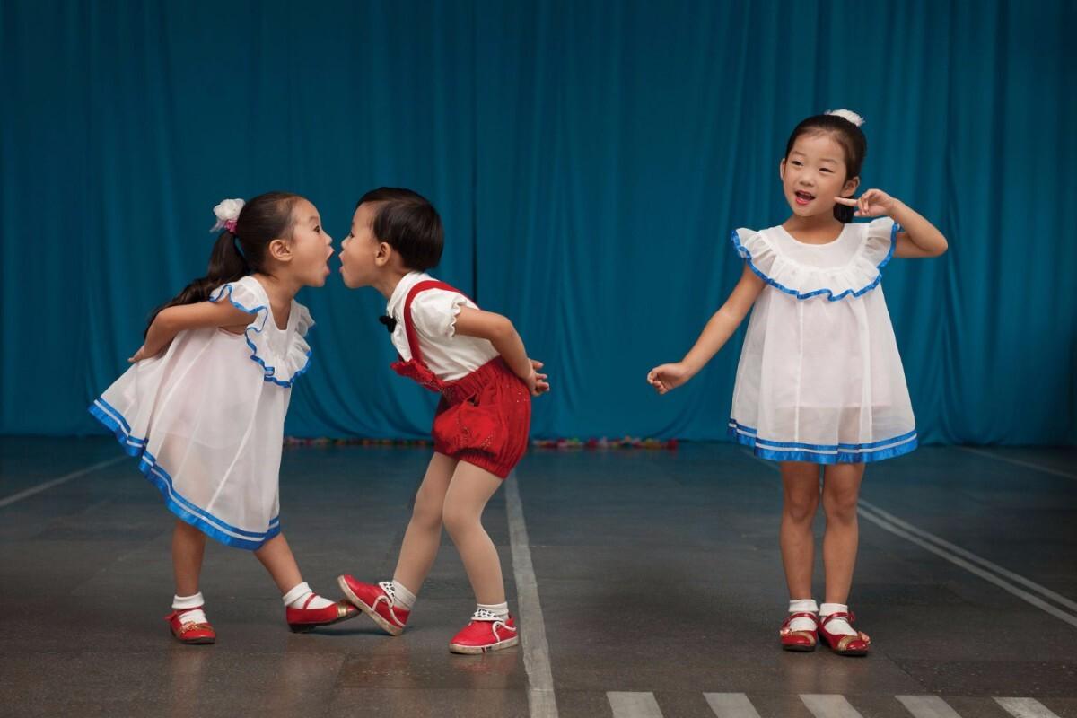 Children's show in North Korea   Mark Edward Harris