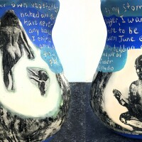 Cathy Akers vase | Courtesy of the artist