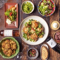 Some food and wine options from a.o.c.| Anne Fishbein