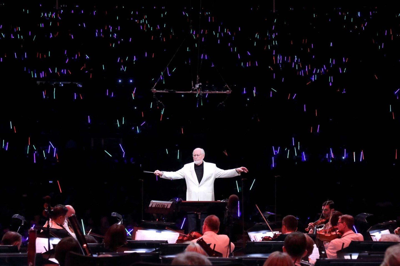 John Williams conducts the LA Phil at the Hollywood Bowl | Craig T. Mathew/Mathew Imaging