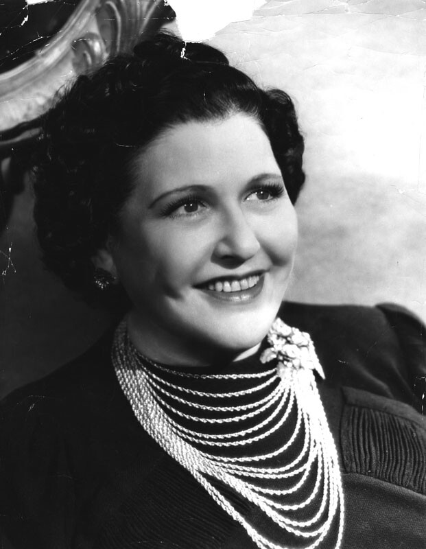 Louella Parsons. Photo courtesy of the Photo Collection – Los Angeles Public Library.