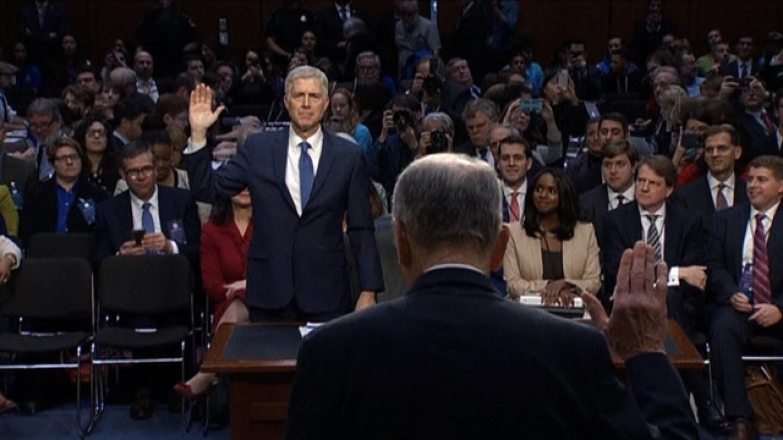 Neil Gorsuch under oath