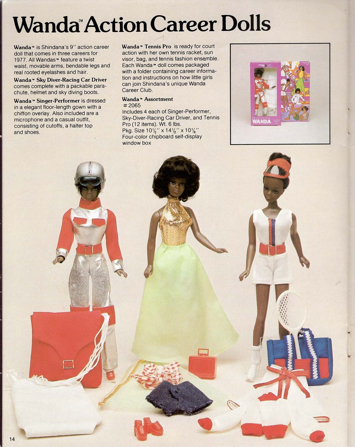 The Wanda Action Career Dolls