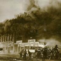 Fighting fire in 1910s LA