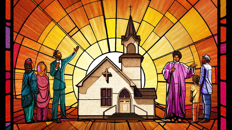 """The Black Church"" Key Art"