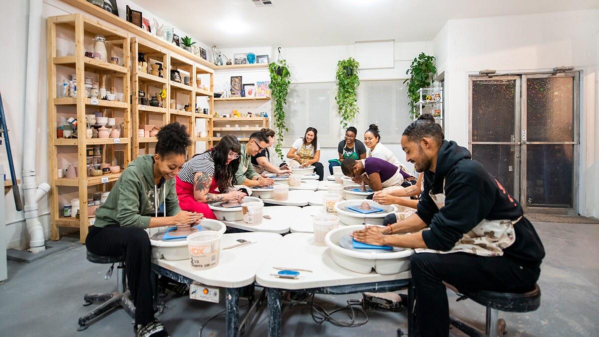 POT customers participate in shop's activities | Sina Araghi
