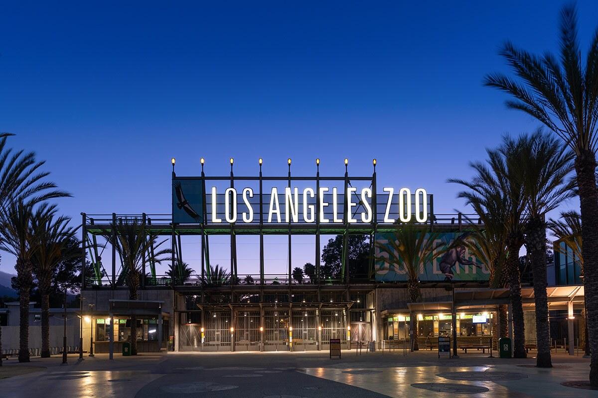 Los Angeles Zoo & Botanical Gardens exterior. | Sandi Hemmerlein