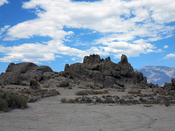 The Alabama Hills: site for stories by both the Numa and Hollywood film industry. | Photo: Tyler Stallings.