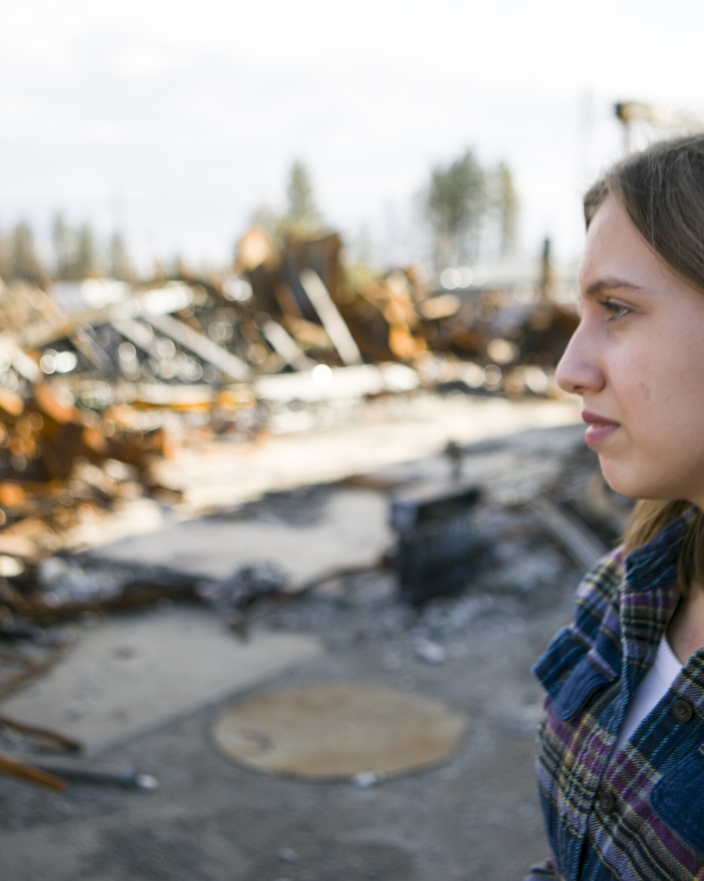 """EARTH FOCUS """"The Youth Climate Movement Around the World"""" features Alexandria Villaseñor from Paradise, California. Image courtesy of Thomson Reuters Foundation."""