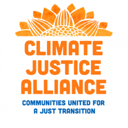Logo for the Climate Justice Alliance.