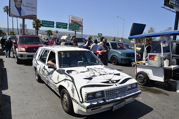 Cognate Cruiser. San Ysidro Port of Entry, Tijuana.
