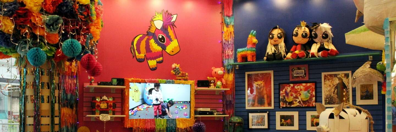 Inside Piñata Design Studio   Afroxander