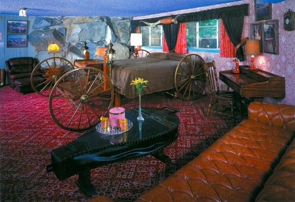 The Yahoo room at the Madonna Inn in San Luis Obispo. | Photo: Courtesy of Madonna Inn.