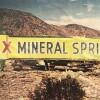 A roadside sign pointing the way toZzyzx|Jason Wallace/CSU Desert Studies Center