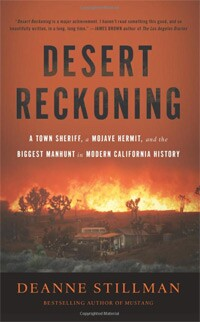 Book cover for Desert Reckoning by Deanne Stillman.   Courtesy of the author.