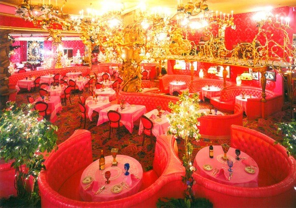 The Gold Rush Steakhouse at the Madonna Inn in San Luis Obispo. | Photo: Courtesy of Madonna Inn.