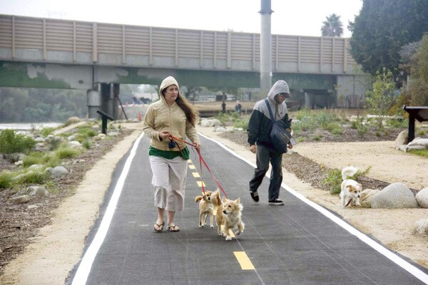 Nearby residents were thrilled to see the park open | Photo by Carren Jao