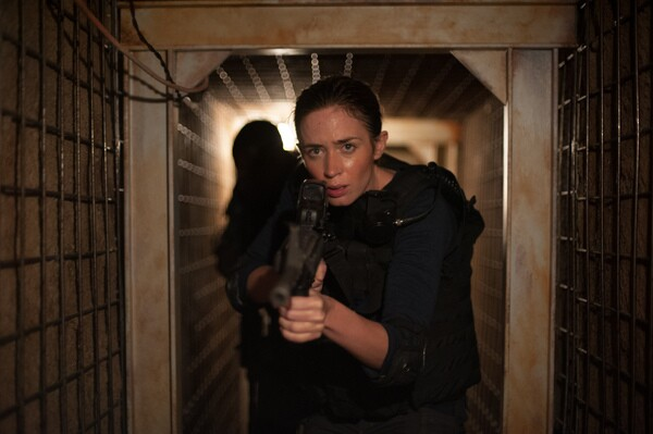 Emily Blunt stars as 'Kate Macer' in SICARIO.