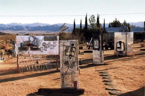 """Sculpture Garden."" | Photograph Courtesy of the Noah Purifoy Foundation."