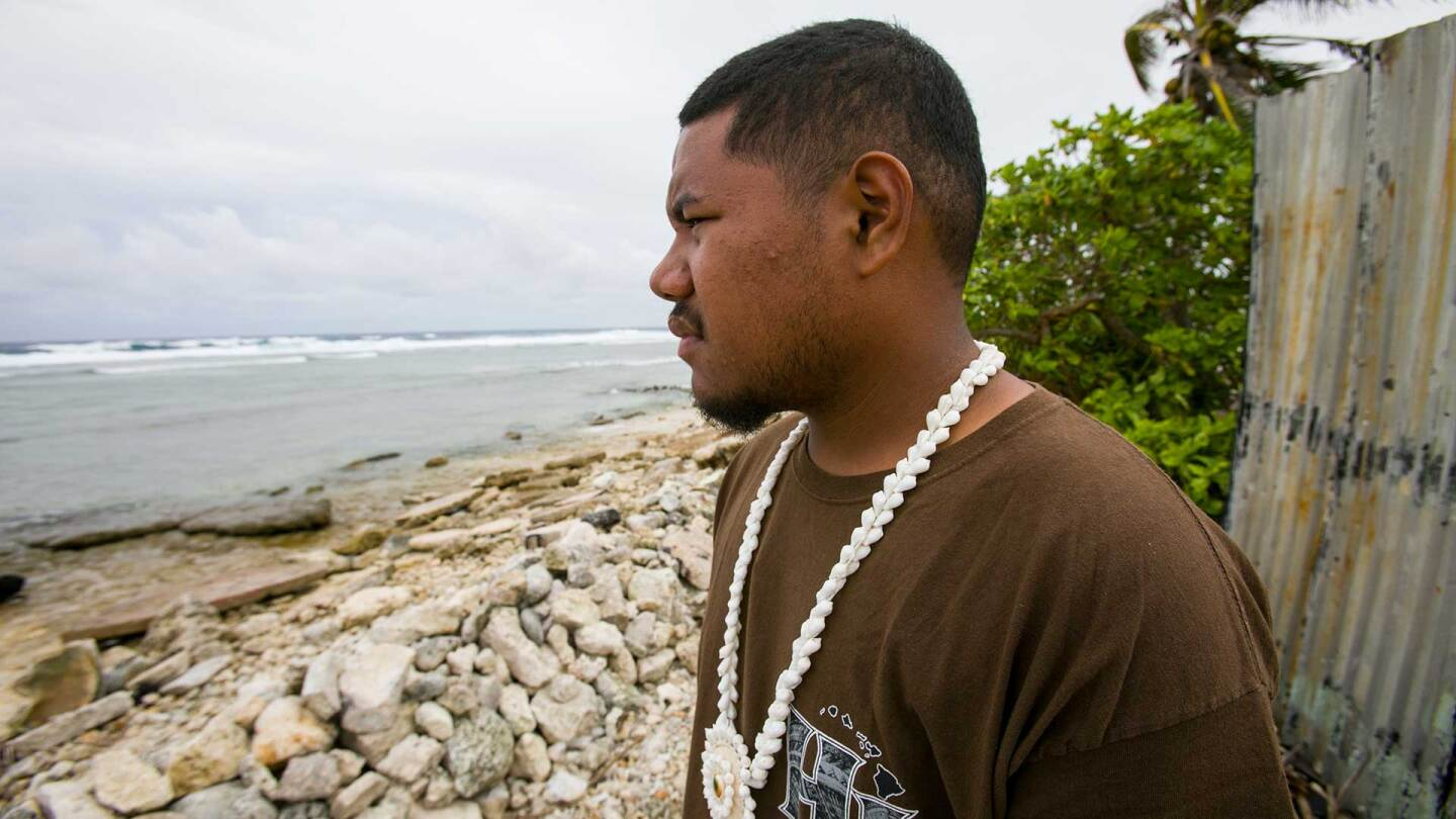Litokne Kabua, a climate activist from the Marshall Islands. | Courtesy of Thomson Reuters Foundation
