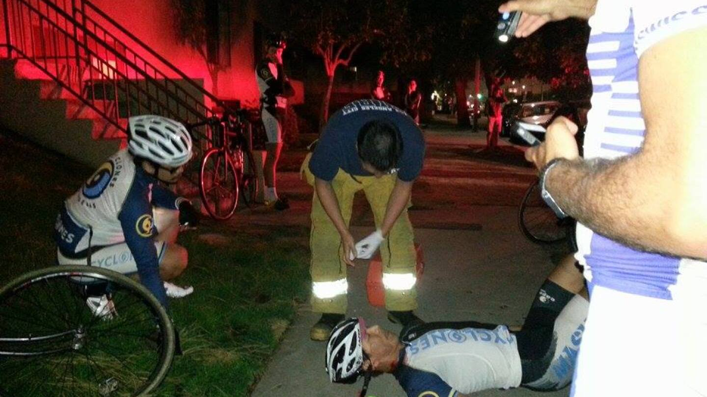 Bicycle Accident in L.A.