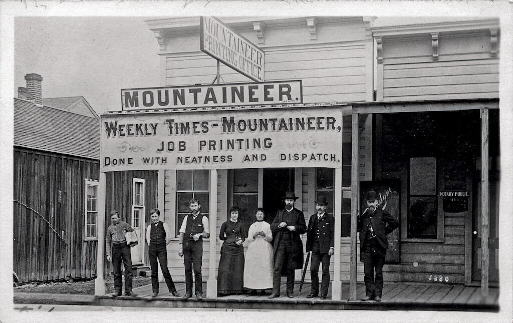 Mountaineer 1880s
