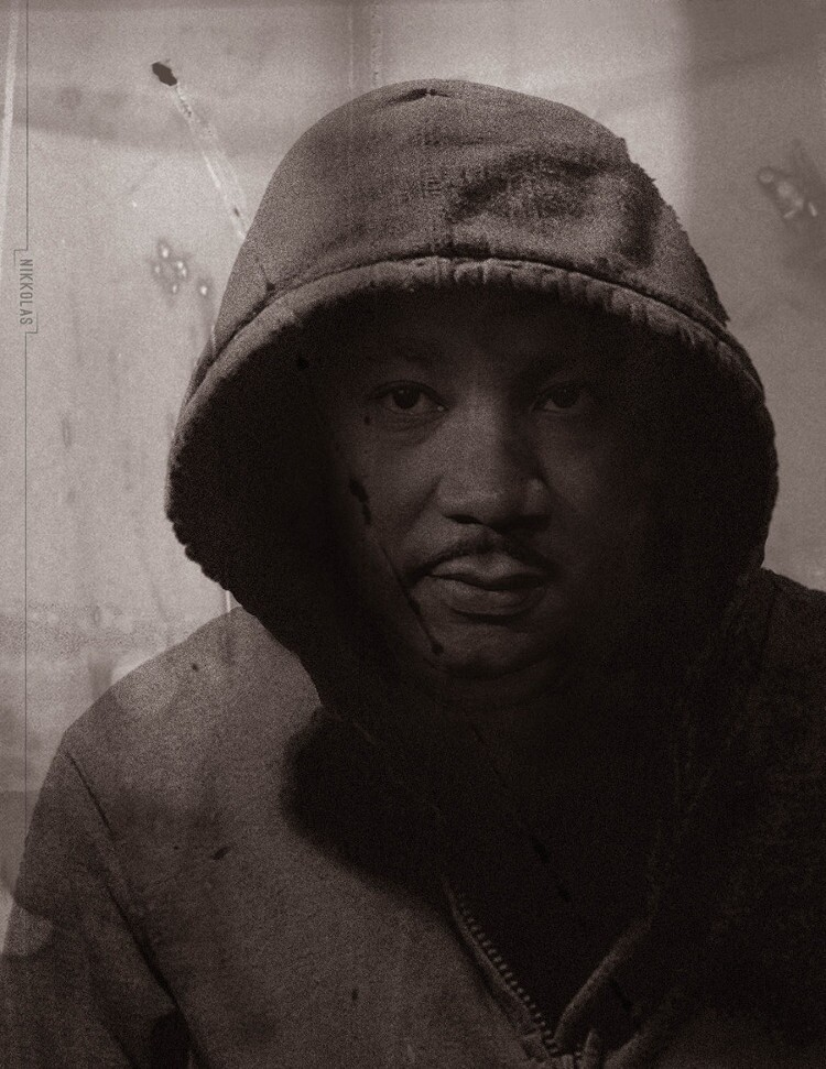 Nikkolas Smith's image of Martin Luther King Jr. wearing a hoodie went viral following the court decision that found George Zimmerman not guilty of killing Trayvon Martin.