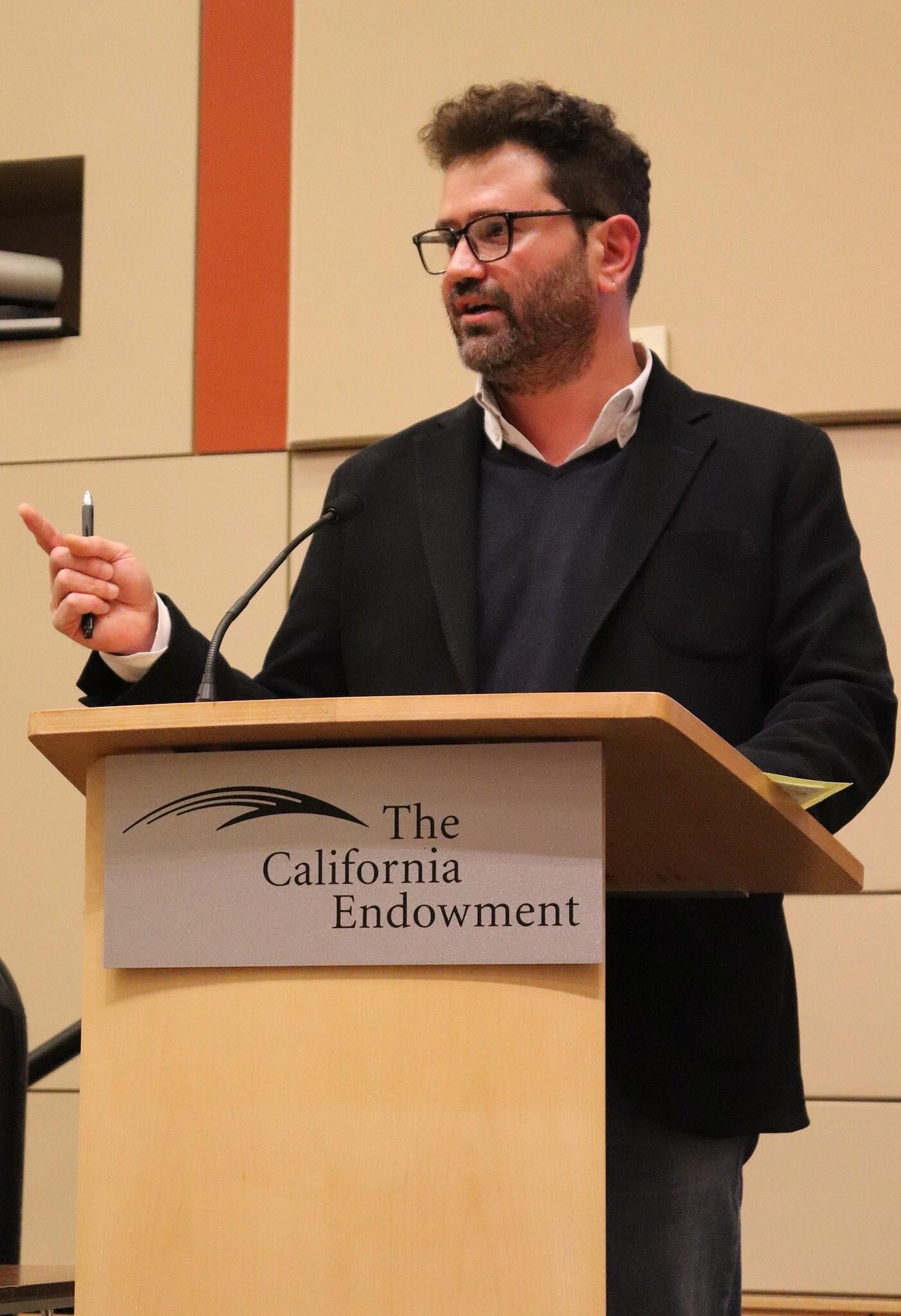 KCETLink Chief Creative Officer Juan Devis welcomes audience