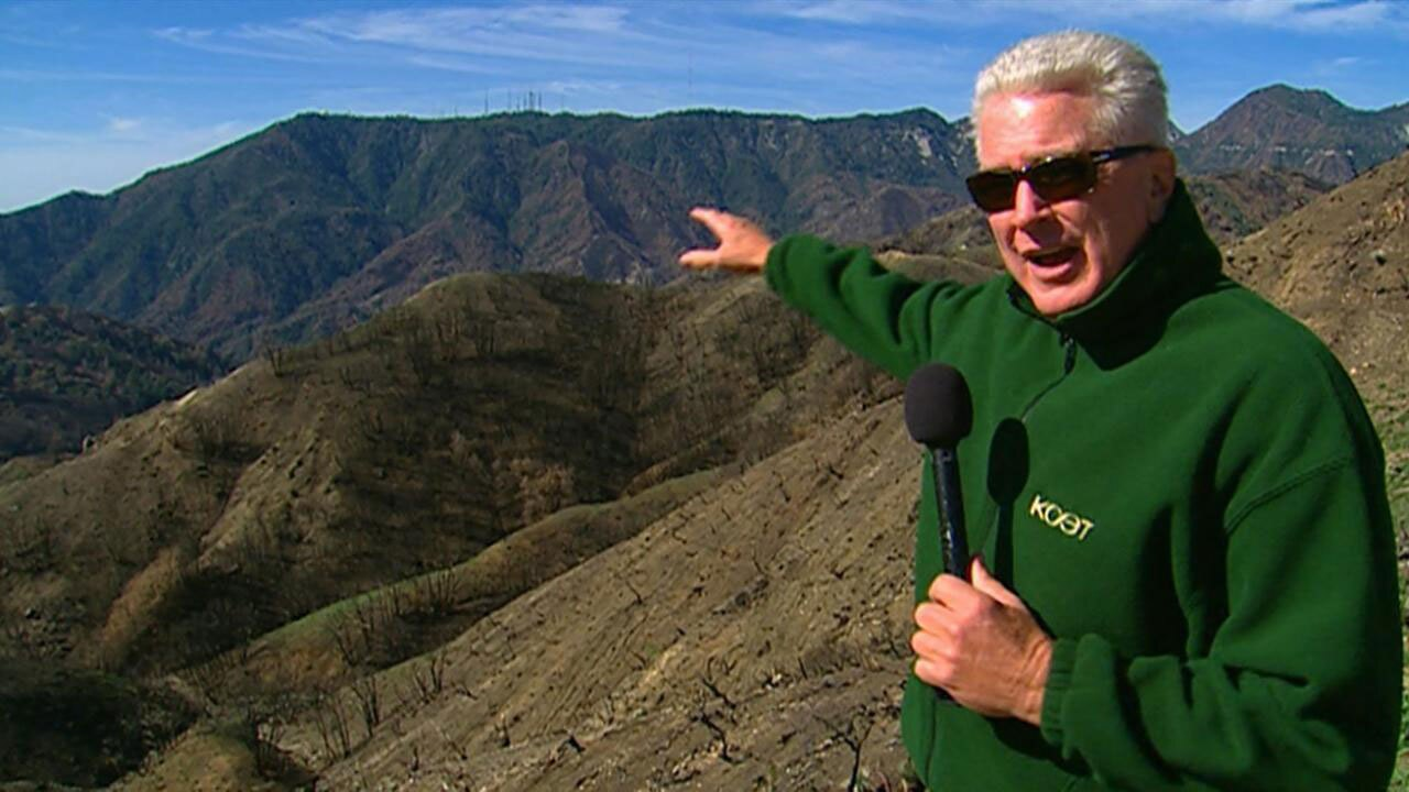 huell howser at mount wilson