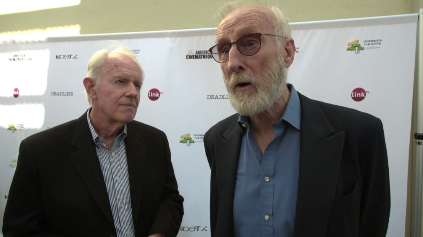 James Cromwell at Earth Focus Environmental Film Festival