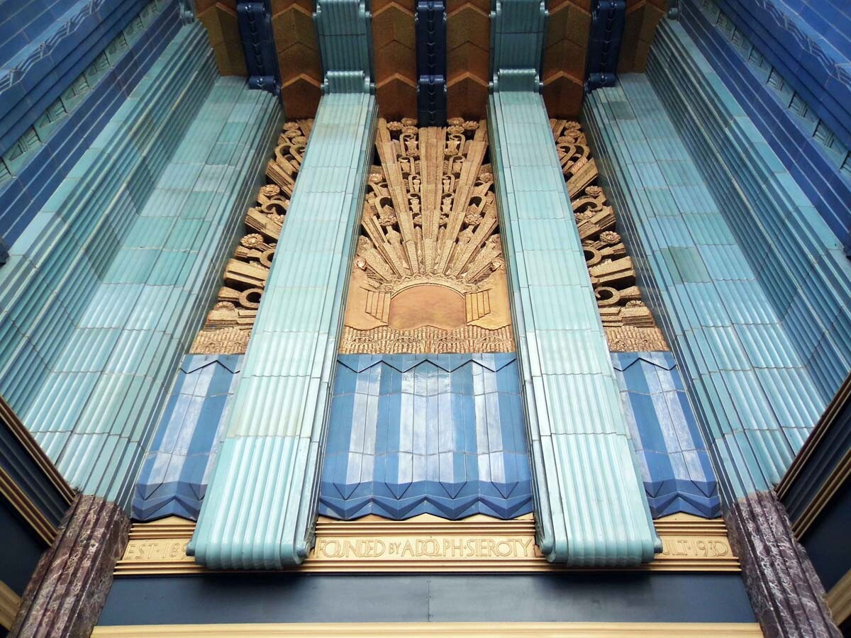 Detail of the Eastern Columbia Building. | Sandi Hemmerlein