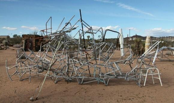 Noah Purifoy Sculpture. | Photo: Drew Tewksbury.