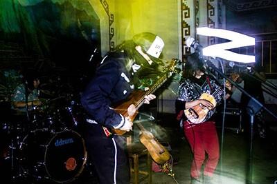 ¡Aparato! performing in Peru | Romina San Martin