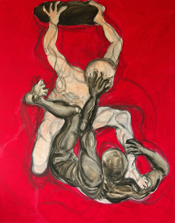 Mary Woronov painting   Photo: Victor Woronov