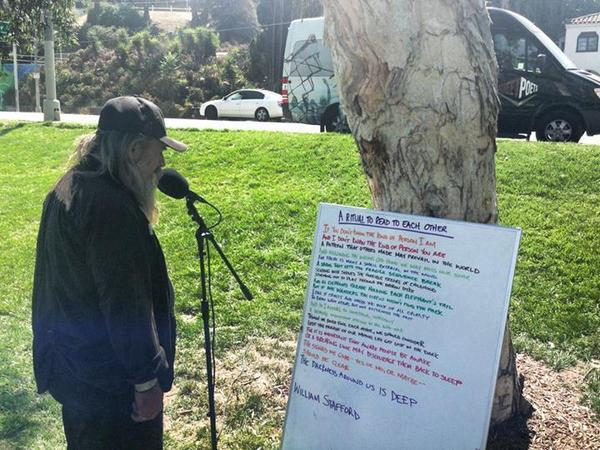 Street Poets' Poetry in Motion van rolls into Echo Park