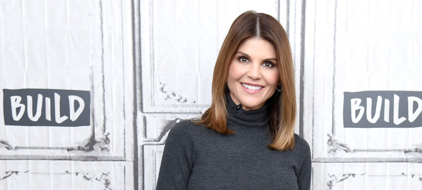 Actress Lori Loughlin visits the Build Brunch to discuss the Hallmark Channel TV series 'When Calls the Heart' at Build Studio on February 14, 2019 in New York City. CROPPED