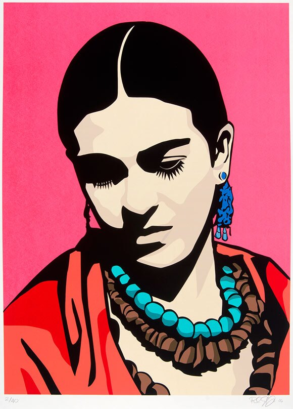 "Raul Caracoza, ""Young Frida"""