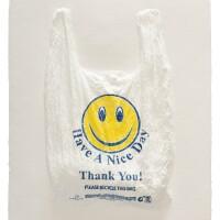 """Analia Saban, """"Have a Nice Day, Thank You! Plastic Bag,"""" 2016"""