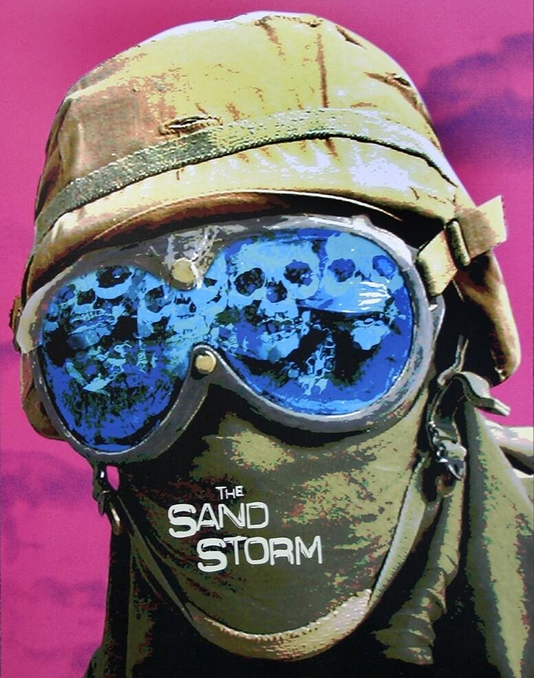 """Sean Huze, """"The Sandstorm"""" promotional poster"""