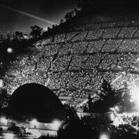 Evening performance at the Hollywood Bowl, 1940. Courtesy of the California Historical Society Collection, USC Libraries.