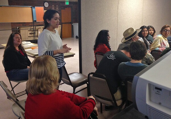 SEMHS student discusses her Youth Voices project