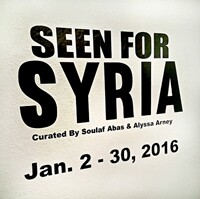 Seen For Syria